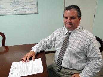 Ivan Costa, interventor do Hospital do Câncer de Pernambuco. (Foto: Katherine Coutinho/G1)