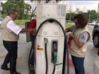 Fiscalização em postos de combustível cai, mas multas dobram