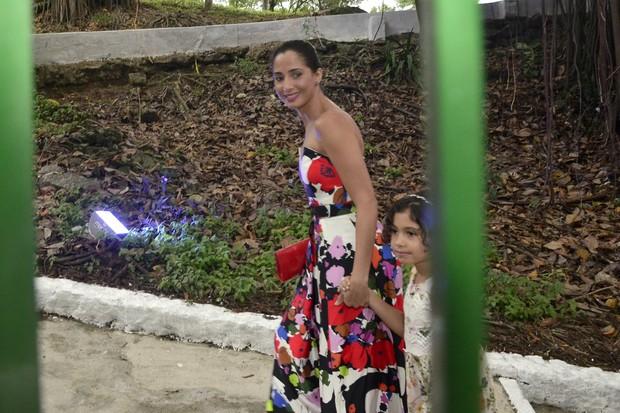 Camila Pitanga -  Casamento Sophie Charlotte e Daniel de Oliveira (Foto: Roberto Teixeira/EGO)