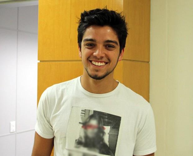 Rodrigo Simas é o campeão do Dança dos Famosos 2012 (Foto: Domingão do Faustão / TV Globo)