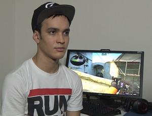 Taco, jogador paraibano de CS (Foto: Reprodução / TV Cabo Branco)