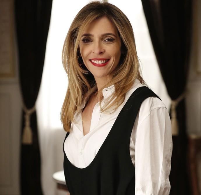 Deborah comemora papel dramático em A Regra do Jogo (Foto: Ellen Soares/Gshow)