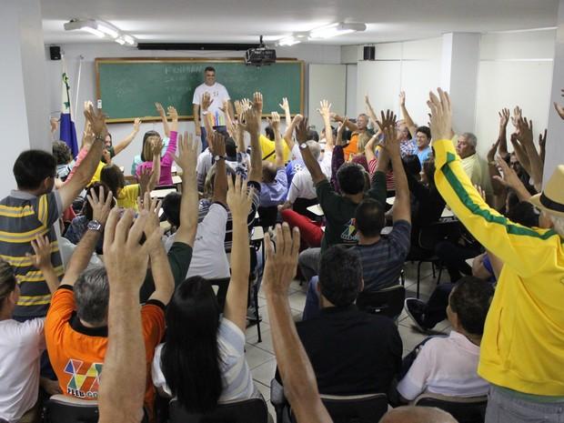 Bancários de Goiás aceitam proposta e decidem encerrar greve  (Foto:  Divulgação/Seeb-GO)