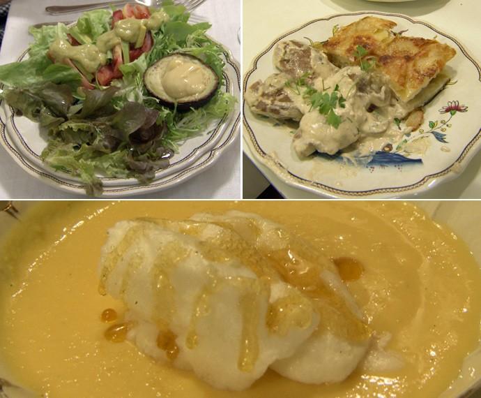 Confira os pratos de Matthieu (Foto: Mais Você/Gshow)