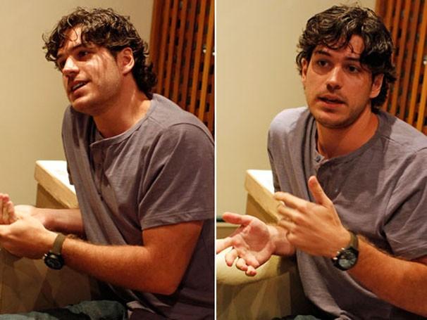 Marco Pigossi fala sobre seu personagem (Foto: Divulgação/TV Globo)