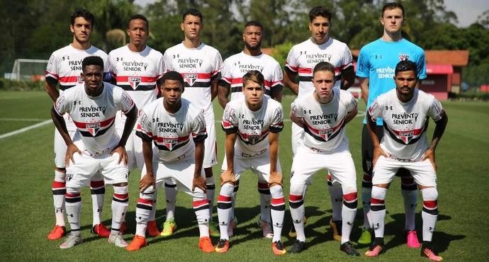 Time do São Paulo sub-20 (Foto: Igor Amorim / saopaulofc.net)