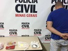 Homem é preso por tráfico de drogas durante operação em Juiz de Fora