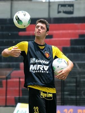 felipe menezes sport (Foto: Aldo Carneiro / GloboEsporte.com)