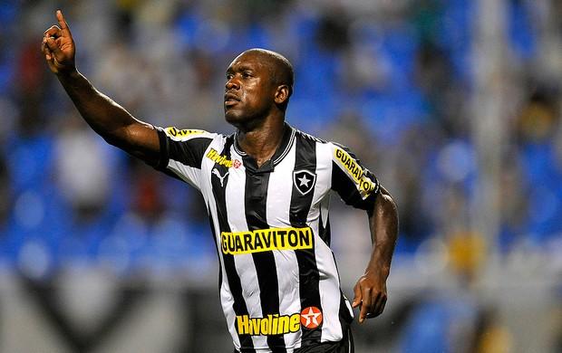 Seedorf comemora gol do Botafogo contra o Resende (Foto: Fernando Soutello / Agif)