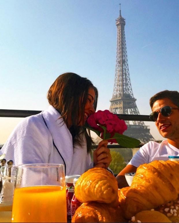 Luma e o marido: romance (Foto: Reprodução Instagram)