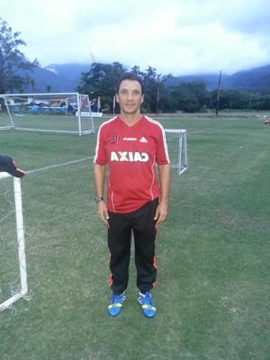 Zé Ricardo, técnico do Flamengo Sub-20 (Foto: Pedro Venancio)