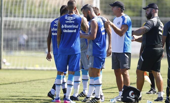Grêmio x Aimoré jogo-treino CT Luiz Carvalho (Foto: Lucas Uebel/Grêmio/Divulgação)