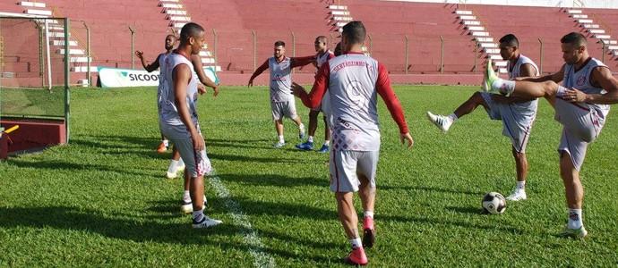 Sertãozinho treino (Foto: Vinícius Alves/Sertãozinho FC)