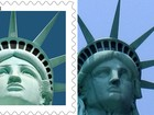 Correio dos EUA é processado após selo com falsa Estátua da Liberdade