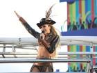 Claudia Leitte comanda trio à la Jack Sparrow, do filme 'Piratas do Caribe'