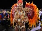 Musas do segundo dia de desfiles em SP elegem 'rainha da avenida'