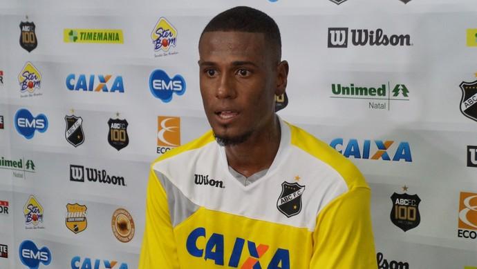 Leandro Amaro ABC (Foto: Augusto Gomes/GloboEsporte.com)