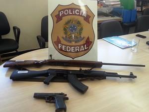 Campanha de Desarmamento recolhe três armas em Juiz de Fora (Foto: Nathalie Guimarães/G1)