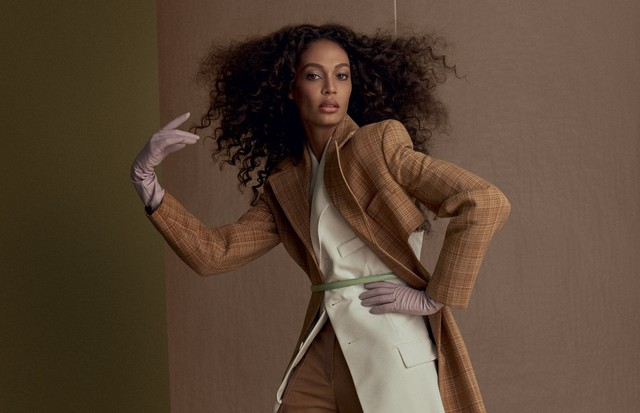 Joan Smalls (Foto: Arquivo Vogue)