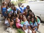 Sambistas brasileiros mudam a rotina da pacata San Luis, na Argentina