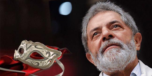 Lula máscara (Foto: Arte: Antônio Lucena)