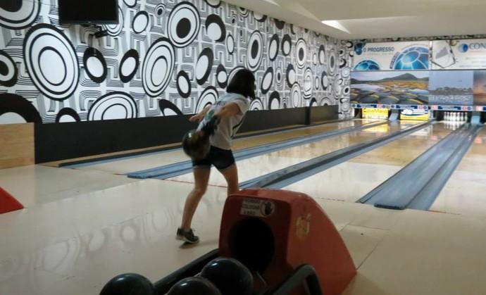 Pista do Procópiu's Bowling, em 2014 (Foto: Divulgação/FBolMS)