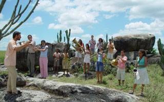 Atores da região foram selecionados para o filme (Foto: Divulgação/Reprodução)