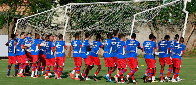bahia; treino bahia (Foto: Felipe Oliveira / Divulgação / E.C Bahia)