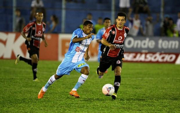 Djalma - Paysandu x Joinville  (Foto: Marcelo Seabra / O Liberal)