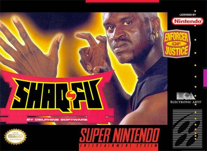 Shaq-Fu é um jogo cult, mas um dos piores do SNES (Foto: Reprodução/HardCore Gaming)