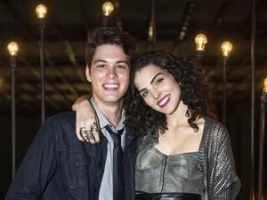 João Vithor Oliveira e Julia Konrad são João e Ciça na nova temporada de Malhação (Foto: Caiuá Franco / Globo)