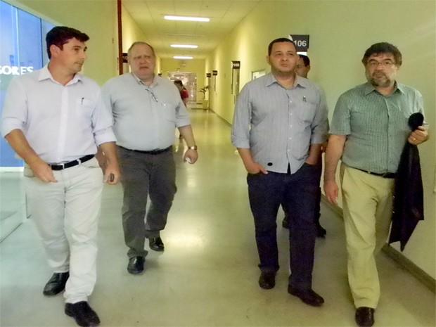 O grupo foi recebido pelo diretor-técnico Elso Alberti Júnior (Foto: Fotógrafos PJ)