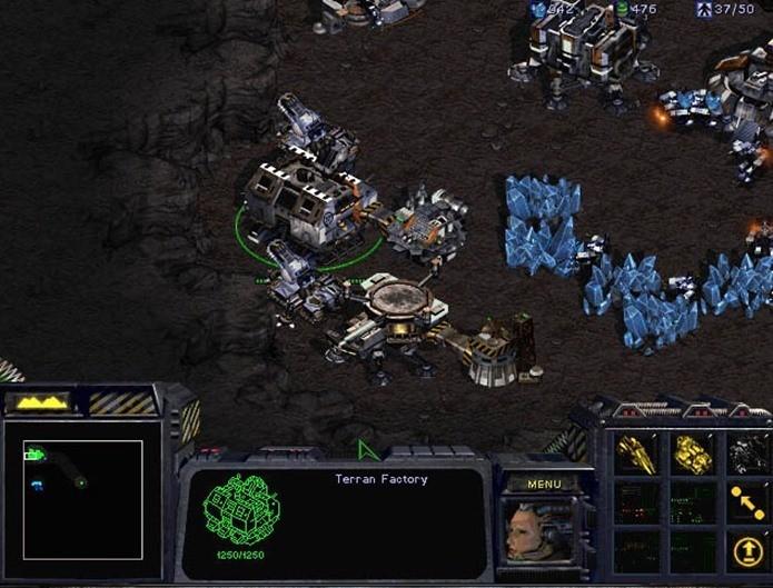 Starcraft é um dos jogos de RTS de maior sucesso de todos os tempos (Foto: Reprodução / Blizzard)