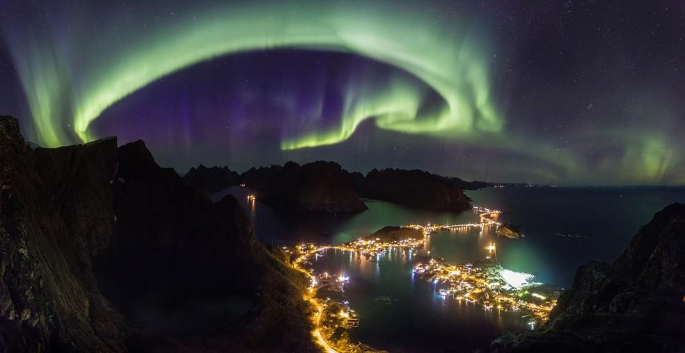 País conta com fenômenos naturais que atraem turistas de todo o mundo, como a aurora boreal (Foto: Cortesia de Visitnorway.com)