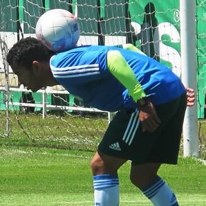 Bruno Oliveira, lateral-direito do Palmeiras (Foto: Marcelo Hazan)