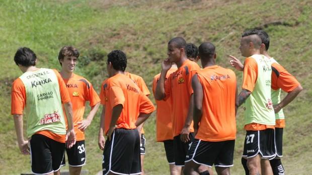 Grupo de jogadores do Criciúma (Foto: Fernando Ribeiro / Criciúma EC)