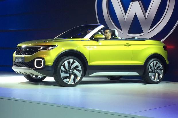 Volkswagen T-Cross Breeze no Salão do Automóvel 2016 (Foto: Autoesporte)