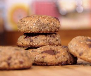 Receita de cookie vegano