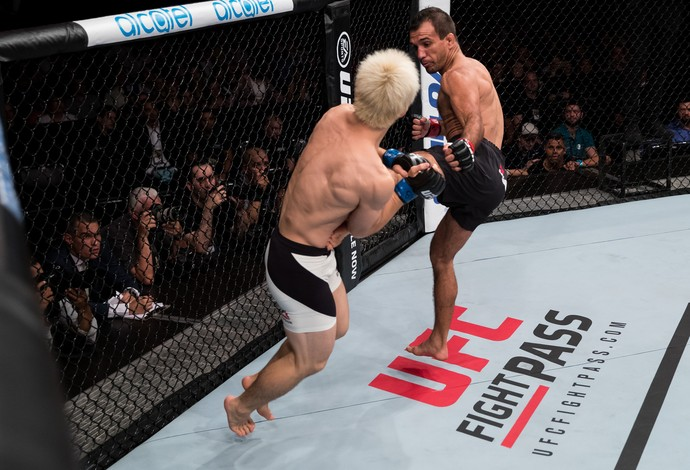 Rani Yahya Michinori Tanaka UFC Brasília (Foto: Getty Images)