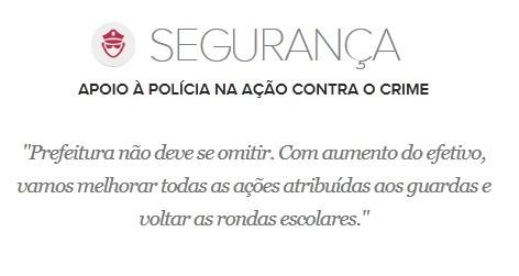 Proposta de Edivaldo Holanda para a Segurança (Foto: G1 Maranhão)
