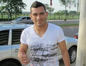 Miguel Samudio, lateral-esquerdo a caminho do Cruzeiro (Foto: Richard Souza)