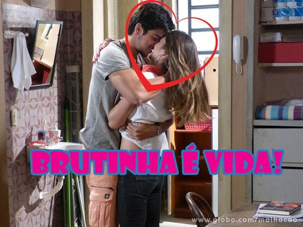 No fim, eles sempre acabam do jeito que a gnt gosta (Foto: Malhação/TV Globo)