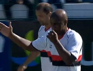 Flamengo gol Showbol (Foto: Reprodução)