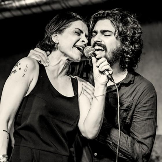 Qinho e Marina Lima se apresentam juntos no Rio, dia 13, em show dedicado ao repertório dela (Foto: Divulgação)