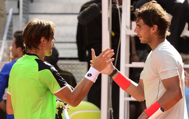 Rafael Nadal contra David Ferrer Masters 1000 de Madri (Foto: AFP)