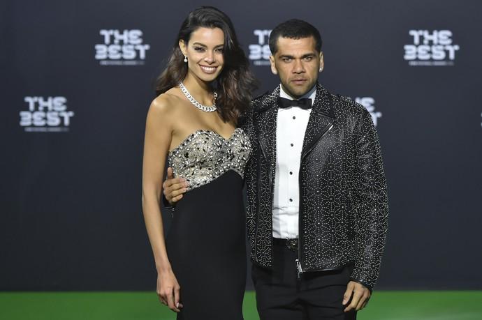 Daniel Alves Fifa The Best (Foto: AFP)