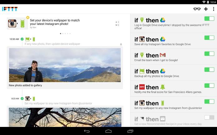 IFTTT é um aplicativo para criar conexões entre sites e redes sociais (Foto: Divulgação)