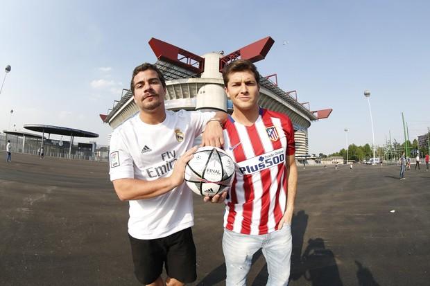 Thiago Martins e Klebber Toledo (Foto: Felipe Panfili / Divulgação)