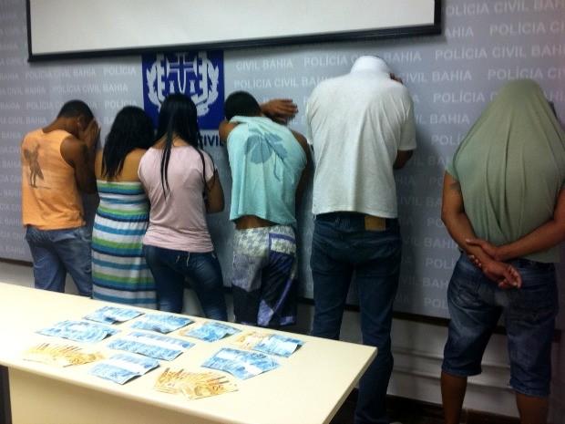 Quadrilha foi apresentada nesta quarta (14), em Salvador (Foto: Egi Santana/G1)