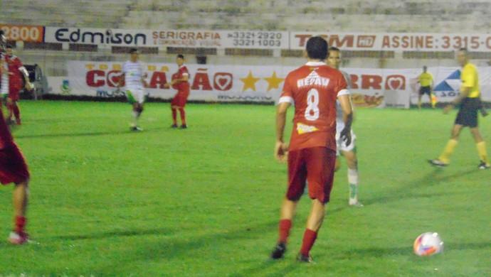 Potiguar de Mossoró x Assu - Estádio Nogueirão (Foto: Marcelo Diaz/Divulgação)